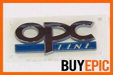 Opel OPC LINE Schriftzug klein, Emblem, Corsa, Astra, Insignia, Turbo, VXR, NEU