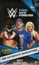 2017 TOPPS WWE THEN, NOW, FOREVER WRESTLING HOBBY BOX FACTORY SEALED NEW