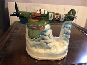 Collectible Spitfire Teapot By Crazy Car Collectibles