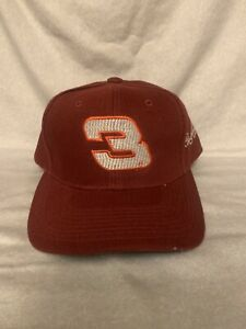 Dale Earnhardt #3 Adult Red Snapback Hat Cap NASCAR Cup Childress RCR New