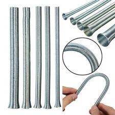 "5pcs 21cm Spring Bending Tube Pipe Bender 1/4"" 5/16"" 3/8"" 1/2"" 5/8"" Silver Set"