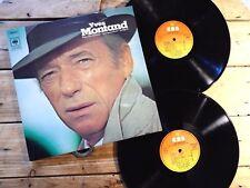 YVES MONTAND DANS SON DERNIER ONE MAN SHOW 2 LP 33T VINYLE EX COVER EX 1972