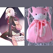 Danganronpa Nanami ChiaKi Cosplay Cat Bag Backpack Prop Accessary Plush package