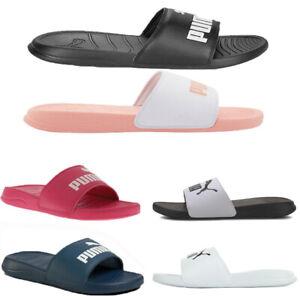 Puma Slides Popcat Pool Beach Sandals Men Sliders Shoes Size 3 4 5 6 7