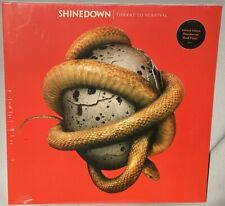 LP SHINEDOWN Threat To Survival (RED Vinyl, LTD, FRANCE, 2015) NEW MINT SEALED