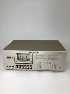 MARANTZ SD1015 (1980) Vintage Stereo Cassette Deck Repair