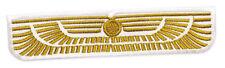 Alien Weyland-Yutani Nostromo Gold Badge Embroidered Patch 7.5cm Sew/Iron-on