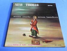 LP ITALIAN PROG NEW TROLLS - SENZA ORARIO SENZA BANDIERA - ORIGINALE