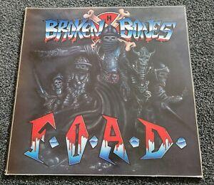Broken Bones - FOAD. Vinyl LP.  Punk Discharge