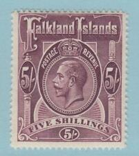 FALKLAND ISLANDS 38 MINT LIGHTLY HINGED OG *  NO FAULTS VERY FINE !