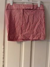 RED AND WHITE SKIRT BY MISS SELFRIDGE. SIZE 12