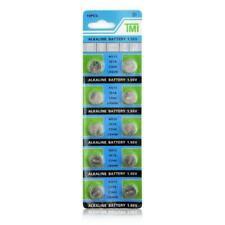 10Pcs LR44 A76 AG13 1128MP 1130SO D303 SR47 1166A Button Coin Cell Battery 1.55V