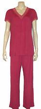 Triumph Schlafanzug*Pyjama* Gr. 42 *SUMMER ELEGANCE* Lipstick pink * Spitze* NEU