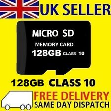 Carte Micro SD 128 Go Class 10 TF Flash Memory mini SDHC SDXC - 128 g-NEW-UK