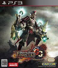 PS3 Monster Hunter Frontier GG Premium PlayStation 3 Japanese ver