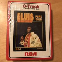 ELVIS PRESLEY Pure Gold 8-Track Cartridge Tape - BRAND NEW FACTORY SEALED NOS !