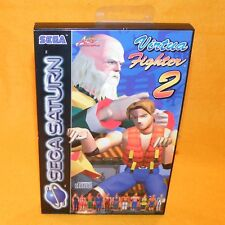 VINTAGE 1995 SEGA SATURN VIRTUA FIGHTER 2 VIDEO GAME PAL & FRENCH SECAM VERSION
