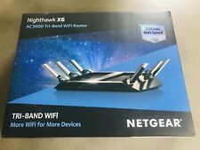 Netgear Tri Band Wifi Ac3000 Router Nighthawk X6