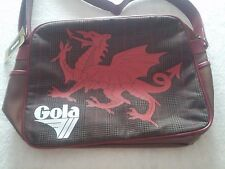 GOLA UK WALES TWEED GALLES SHOULDER MESSENGER BAG BORSA TRACOLLA RETRO STYLE