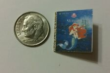 Miniature dollhouse Disney Princess book Barbie 1/12 Scale Little Mermaid Ariel