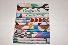 Quilt Pattern Book - Designs In Patchwork - Nos 1987 - 30 Quilts + Templates
