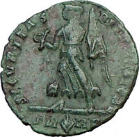 VALENS 367AD Authentic Ancient Roman Coin Victory Nike ANGEL  i21338