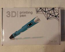 DW-G2 12V 3D Printing Doodling Pen Drawing Arts Crafts US Plug pink New in Box