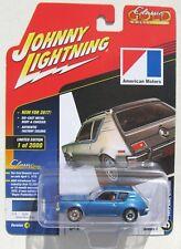 JOHNNY LIGHTNING 2017 CLASSIC GOLD 1972 AMC GREMLIN BLUE A #5  1/2,000