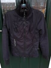 Bench Black Ladies Jacket/Coat Size S - Cover Up Funnel Neck Collar