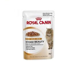 Royal Canin Intense Beauty And Shine Hair Cats Adultos- Humid 85g