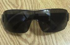 "8b965067a62 Costa Del Mar Sunglasses Shades ""Panga"" Black Frame Shield Wrap Lens Italy"