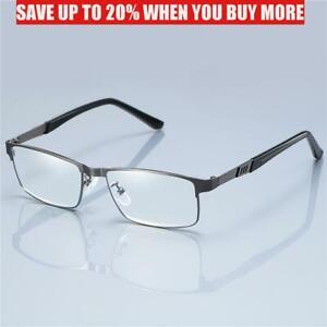 Men's Business Reading Glasses Computer Readers Presbyopic Optical Glasses