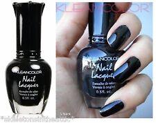 Kleancolor Black Nail Lacquer Polish # 5 - .5 oz