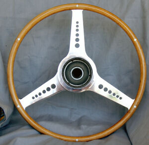 Austin-Healey 100S Wood Rimmed Steering Wheel
