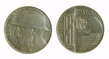 173) Regno Vittorio Emanuele III (1900-1943)  20 Lire 1928 Elmetto