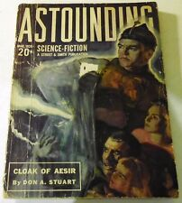 Astounding Science-Fiction – US pulp – March 1939 - Vol.23 No.1 - Gold, Burks