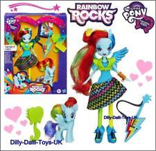 My Little Pony & Doll Rainbow Dash DOUBLE SET Equestria Girls Rocks RARE & NEW