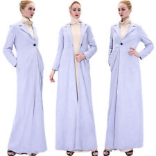 2020 Spring Women Warm Long Jacket Coat Open Front Button Windbreaker Outerwear