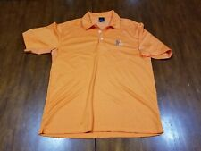 Men's Nike Golf Polo Shirt Sz Large Prairie Dunes Golf Euc