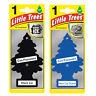 2 x Magic Tree Little Trees Car Home Air Freshener Scent BLACK ICE + NEW CAR