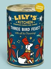 Lilys Kitchen Christmas Three Bird Feast Wet Dog Food Dinner Treat
