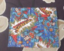 Vintage 1979-Superman Matériel-Made in à grande Housse de coussin/Case