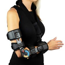 Elbow ROM Brace- Hinged Elbow Brace for Post Op Elbow Fracture Rehabilitation