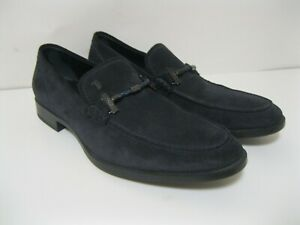 TOD'S Men's suede blue loafers U.S. Size: 7 *NWOB* MADE IN ITALY