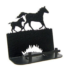 Horse - Mare & Foal Business Card Holder