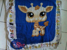 Serviette Plage ou Piscine, bain Girafe LITTLE PETSHOP 72x126cm