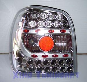 Fari Posteriori a LED CROMATI VW POLO 6N 94-99 CROMO IT