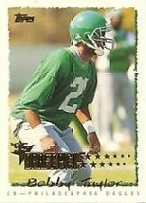 Bobby Taylor Eagles 1995 Topps Rookie #241