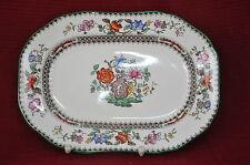 C72  SPODE Porzellan England Chinese Rose Gebäckteller Servier Platte plate