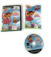 Dora the Explorer Saves Crystal Kingdom Sony PlayStation 2 Game PS2 Complete